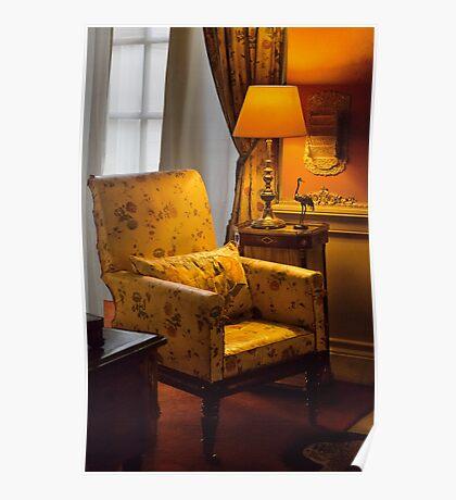 Chair&light Poster