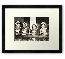 Sailors Relax Framed Print