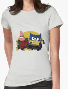 Bob Square Bats & Patrick Womens Fitted T-Shirt