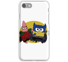 Bob Square Bats & Patrick iPhone Case/Skin