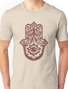 Hamsa - Hand of Fatima, protection symbol Unisex T-Shirt