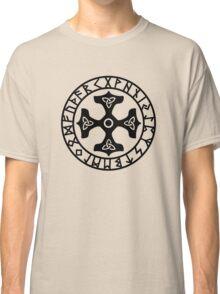 Thors Hammer, Runes, Triquetra, Mjolnir, Mjölnir, Amulet, Celtic Classic T-Shirt