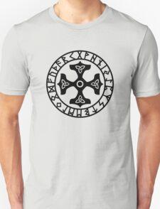 Thors Hammer, Runes, Triquetra, Mjolnir, Mjölnir, Amulet, Celtic Unisex T-Shirt