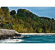 North Beach Waves Photographic Print
