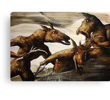 Euthanasia 6'x8' Canvas Print
