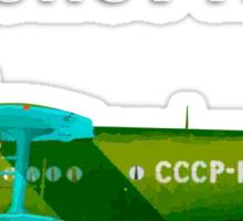 Antonov An-2 with text Sticker