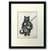Behemoth the Cat Framed Print