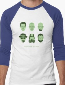 ALL HAIL HEISENBERG! Men's Baseball ¾ T-Shirt