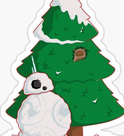 Snowdroid Sticker