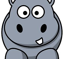 Cartoon Hippo by kwg2200
