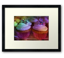 Birthday Cup Cake Framed Print