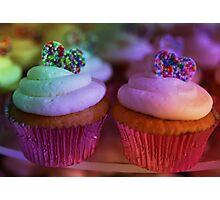 Birthday Cup Cake Photographic Print
