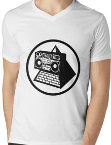 KLF Pyramid Blaster (Black) Mens V-Neck T-Shirt