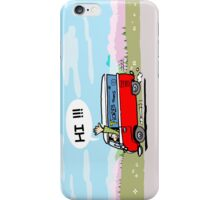 VW T1 heading to mountains iPhone Case/Skin