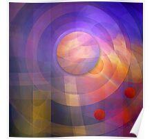 Solar Energy, Fractal geometric artwork Poster