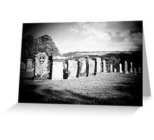 Gravestones Greeting Card