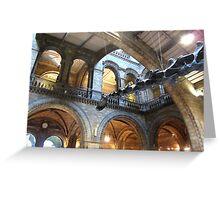 NATURAL HISTORY MUSEUM LONDON Greeting Card