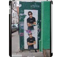 Lou Reed Street Posters iPad Case/Skin