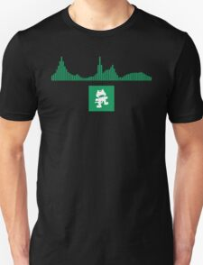 Monstercat Visualizer - Glitch-Hop Green Unisex T-Shirt
