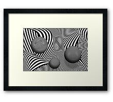 Abstract - Poke out my eyes Framed Print