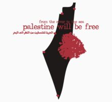from the river to the sea Palestine will be free T-shirts One Piece - Short Sleeve