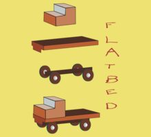 Flatbed Truck kit of parts T-shirt Kids Clothes