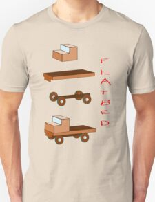 Flatbed Truck kit of parts T-shirt Unisex T-Shirt