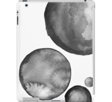 Ink Circles Abstract Art iPad Case/Skin