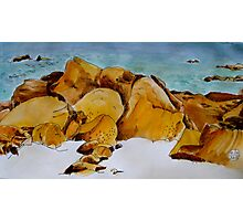 The Rocky Shore Photographic Print