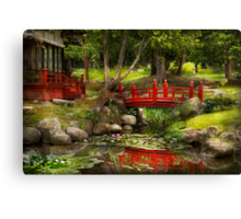 Japanese Garden - Meditation  Canvas Print
