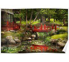 Japanese Garden - Meditation  Poster