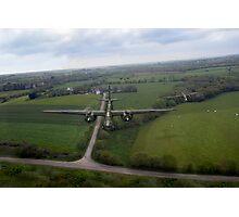 RAF Bostons on low-level strike Photographic Print