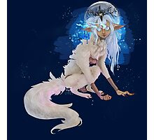 Werewolf Princess Photographic Print