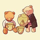 two two one teddybear by butterbear