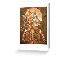 Lycanthropology (Greenheart) Greeting Card