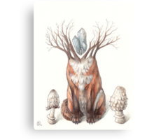 Crystal Fox Canvas Print