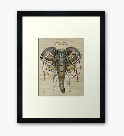 Flight of the Elephant Framed Print