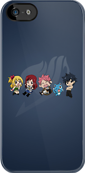 Fairy Tail Chibi by maaiiccoo