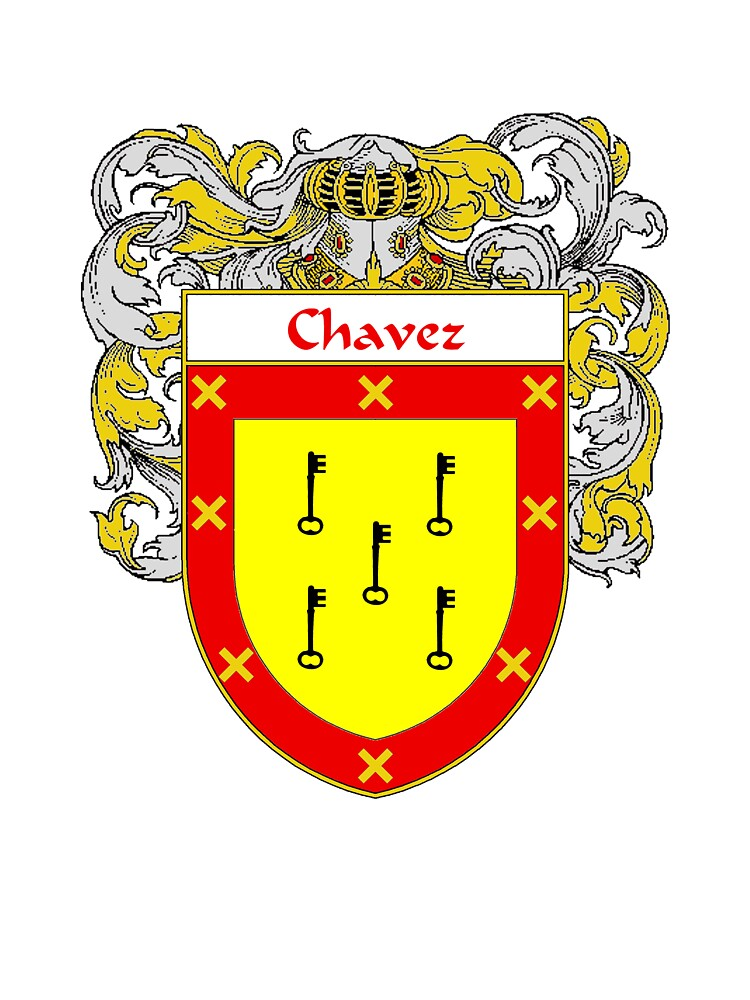 Chavez Coat of Arms/Family Crest by William Martin