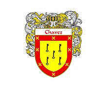 Chavez Coat of Arms/Family Crest Photographic Print