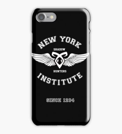 New York Institute iPhone Case/Skin