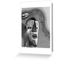 snake shaman Greeting Card