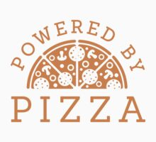 Powered by pizza Kids Tee