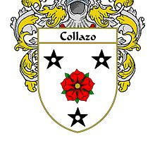 Collazo Coat of Arms/Family Crest by William Martin