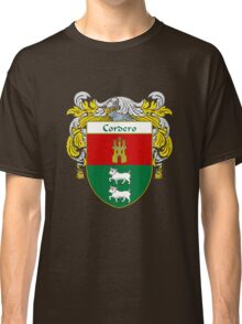 Cordero Coat of Arms/Family Crest Classic T-Shirt