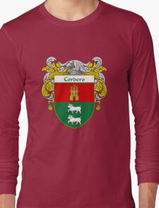 Cordero Coat of Arms/Family Crest Long Sleeve T-Shirt