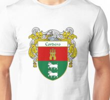 Cordero Coat of Arms/Family Crest Unisex T-Shirt