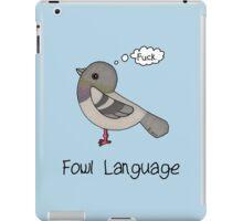 Fowl Language iPad Case/Skin