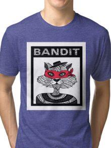 Bandit Brother I by Lauren Mayhew Tri-blend T-Shirt