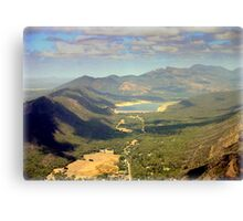 The Grampians ( Aboriginal name Gariwerd) Canvas Print
